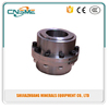 High precision barelled gear couplings, barelled rolling mill curved tooth gear coupling