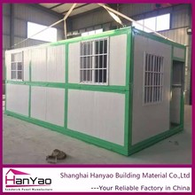 Nice Design Build-In Steel Structure Cement Prefabricated Houses Spain