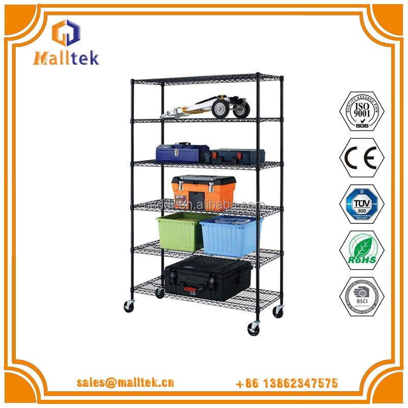 Tight Mesh Wire Shelving