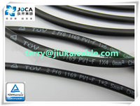 TUV approved 6mm2 twin dc solar cable for solar panel mount