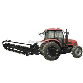 Chain type good quality lower price tractor trencher