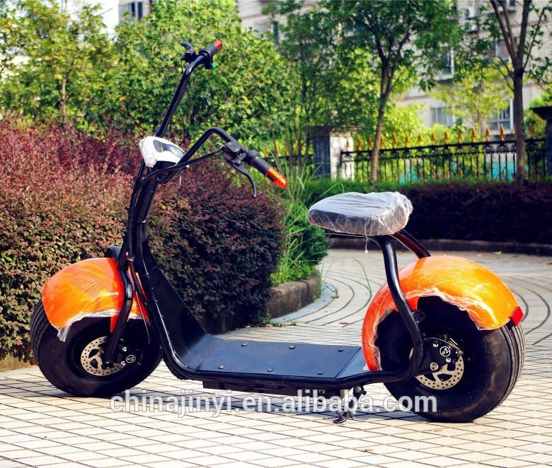 China fashion <strong>CE</strong> 2 fat tyre 1000w electric motorcycle scooter