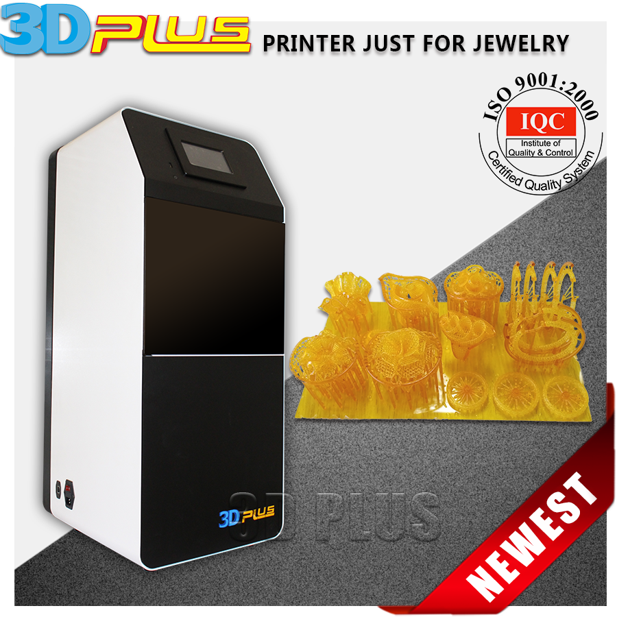 High Surface Industrial Grade DLP 3D Jewelry Printer For Personlized Jewelry Making Industry