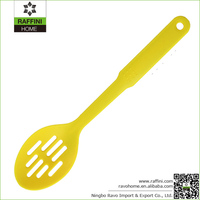 New Products Kitchen Accessories Nylon Slotted Spatula Spoon