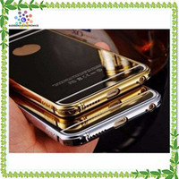 Bling Mirror Back Cover Cell Phone Case For Samsung Galaxy J1 Trend Plus S7580 2 G7106 Win I8552 S4 Grand Prime J4 On7 S5