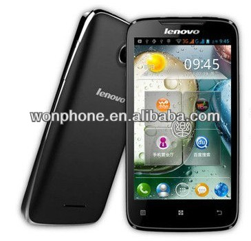 Original in stock New arrival lenovo A390 3G Android 4.0 MTK6577 Dual core Dual SIM card Support Russian