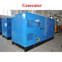 250kva 380V triphasic Genset / silent type permanent magnet electric generator / low rpm generator