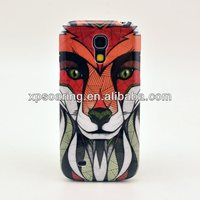 Cellpone case back cover for Samsung Galaxy S4 mini Tiger Design
