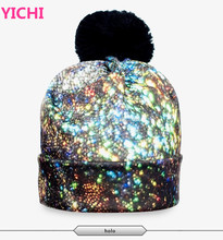 2017 cartoon cc beanie hat beanie printing hat ball ca 3D digital printing cap
