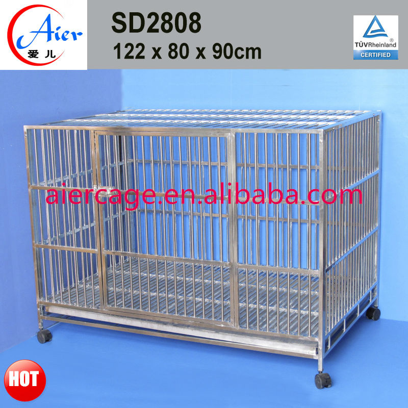 quality assurance outdoor stainless steel dog cages