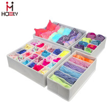 Closet Underwear Organizer Drawer Divider 4 set ,Foldable
