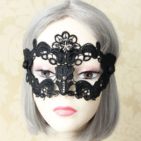 New black lace sexy female masks have stock wholesale OEM is welcome