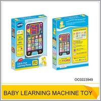 Hot learning machine Plastic touch screen mobile phont toy OC0223949
