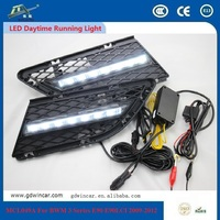 Auto Hid Kit Headlight Lamp Strip Led High Bright Drl For Bmw 3 Series e90 e90lci 2009 - 2012