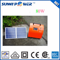 OEM high efficiency home protable solar energy system/solar power system/solar generator with ISO,CE,CSA,IEC for fan/light/phone