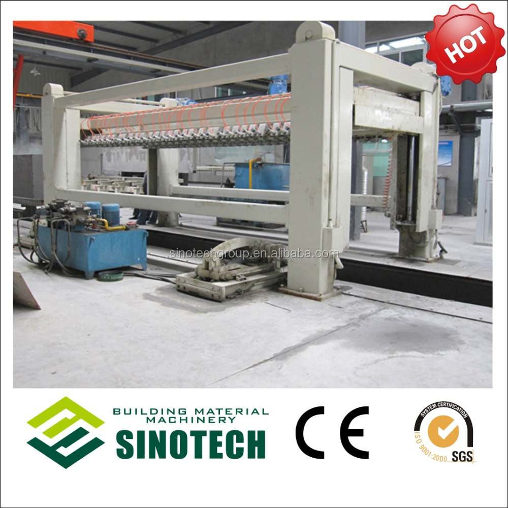 Sinotech Semi/full-automatic marble aac block cutting machine