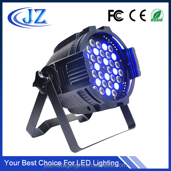 36x3w led light par 64 uplights RGBW 3w CE Rohs