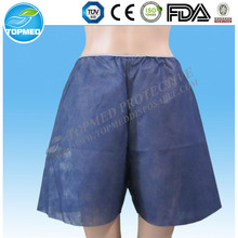 HOT! Nonwoven hospital disposable panties , Spa disposable underwear for men