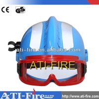 EN approved used fire helmet /firefighters protective helmets