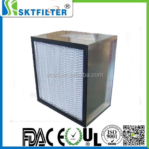 high efficiency hepa filter h13 for air conditioner