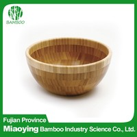 Wooden Soup Fiber Bowl