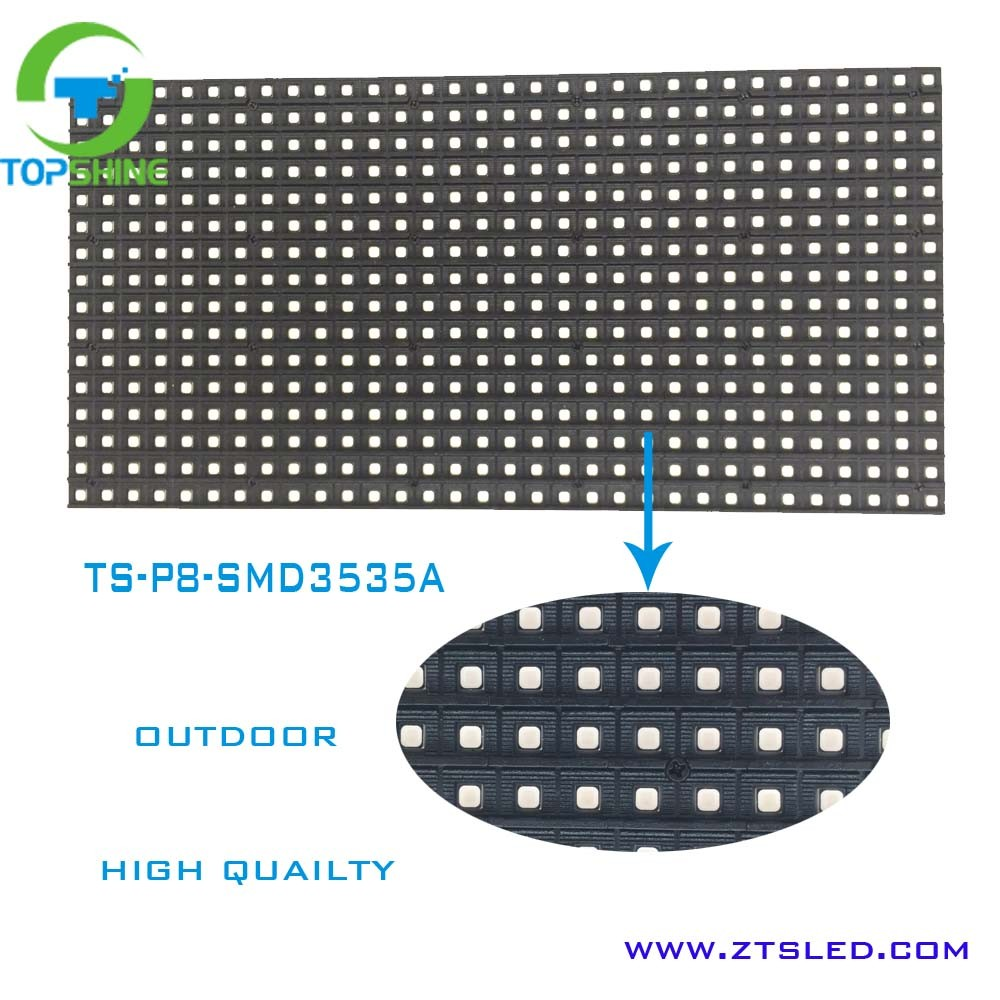 High quality China hd p8 led display screen hot smd outdoor p8 p6 p10 full color led module