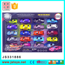 2017 colorful diecast metal model pull back die cast car toy