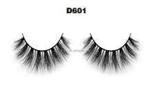 OEM 3D effect silk /synthetic hair/ faux mink false strip eyelashes