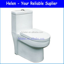 Floor Mount Siphonic One-piece WC S-trap WC Toilet China 1833