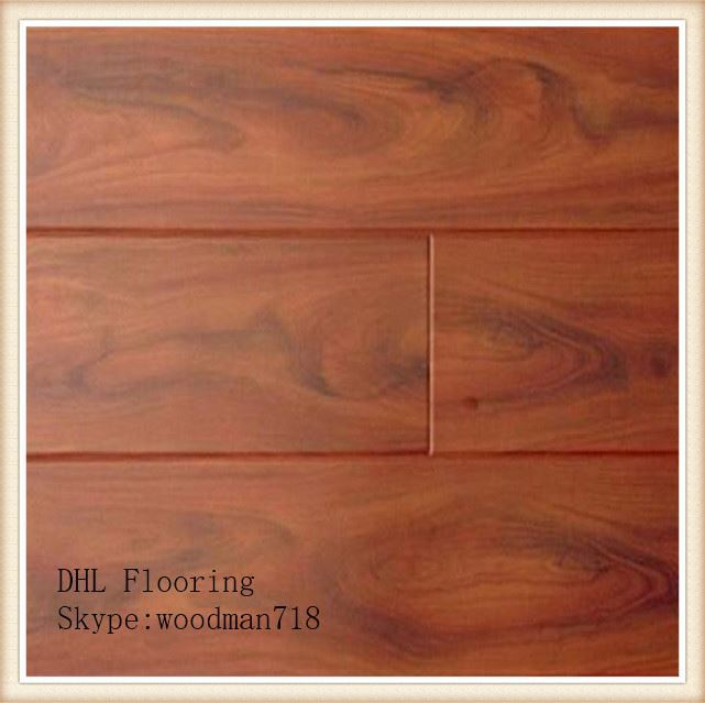 12mm AC3 V-groove bevel german technique with good hdf wood pvc vinyl waterproof plastic manufacturer china laminate flooring