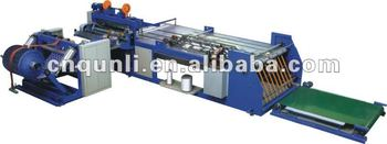 pp woven cutting and stitching machine