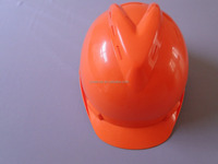 Industrial face shield safety helmet with inner line/Head protection helmet