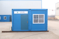 one-stop service for the prefabricated flat-pack porta cabins prefab houses container cabin modular