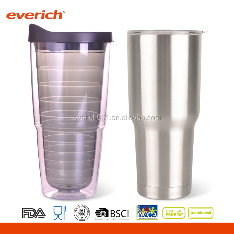 Everich DW S/S 20 Oz Stainless Steel Tumbler Thermos Cup with ncludes lid for Coffee and Tea