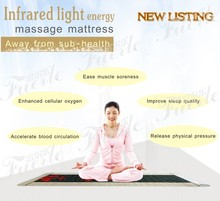 Electric heating Healthcare Jade Massage Mattress