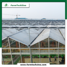 Insulated glass greenhouse for agriculture plant vegetable and flower