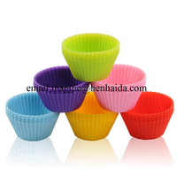 Non Stick Jumbo Silicone Cupcake Cups, Silicone Cupcake Liners/Muffin Baking Cups