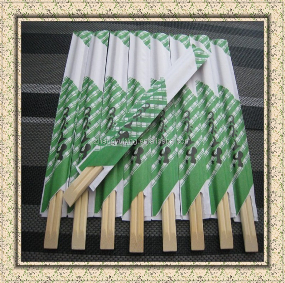 Customized Wholesale Chopsticks with paper wrapped