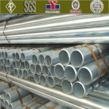 ERW Hot Dip Galvanized Steel Pipe Made in China for Construction Material
