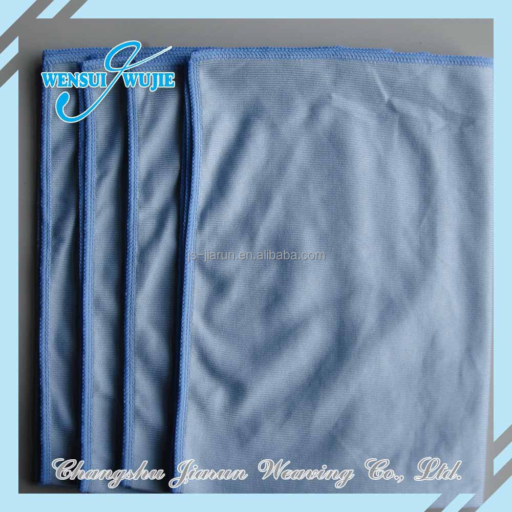 High absorbent cheap price window glass cleaning microfiber wiper