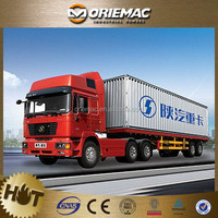 trailer 34ton automatic transmission tractor truck , Low price euro truck 600hp china shacman 6x6 super power tractor truck