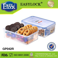 Hot selling plastic fruit storage box with lid