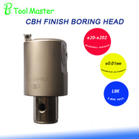 CBH40-55 Finish boring heads +LBK4 tool holder with inserts TP08