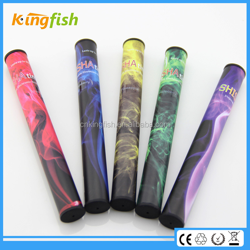 fashionable patterns 500-600 puffs electric usa shisha molasses