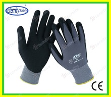 Hot sales black white colorful light and soft foaming glove