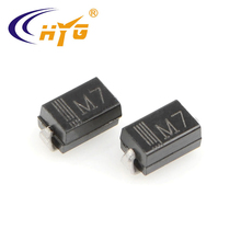 M7 patch rectifier diode 1A1000V SMA packaging factory direct sale stock