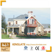ASTM&EN12326 Approved-KINSLATE Natural Black Roofing Building Material