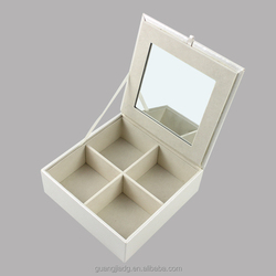 High Quality Big Lots White Bangle bracelet Jewelry Box Made by Bamboo Bangle jewelry box