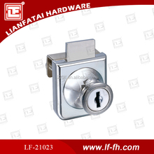 Zince alloy furniture drawer lock with hight quality from factory
