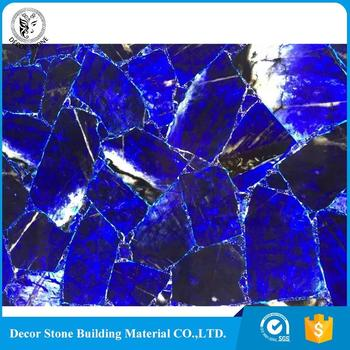 wholesale labrador blue agate slabs with good price